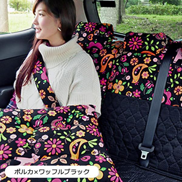 汎用タイプ・後部座席キルティングシートカバー ※バンダナは別売です